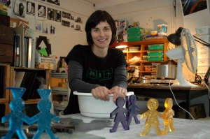 Artist in Residency - Di Tocker at Otago