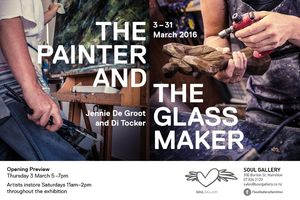 Exhibition - The Painter and the Glassmaker