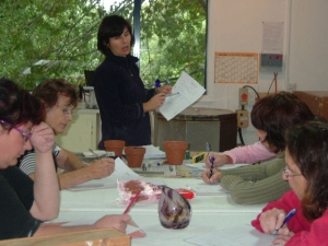 Glass Casting Workshop - March 2011