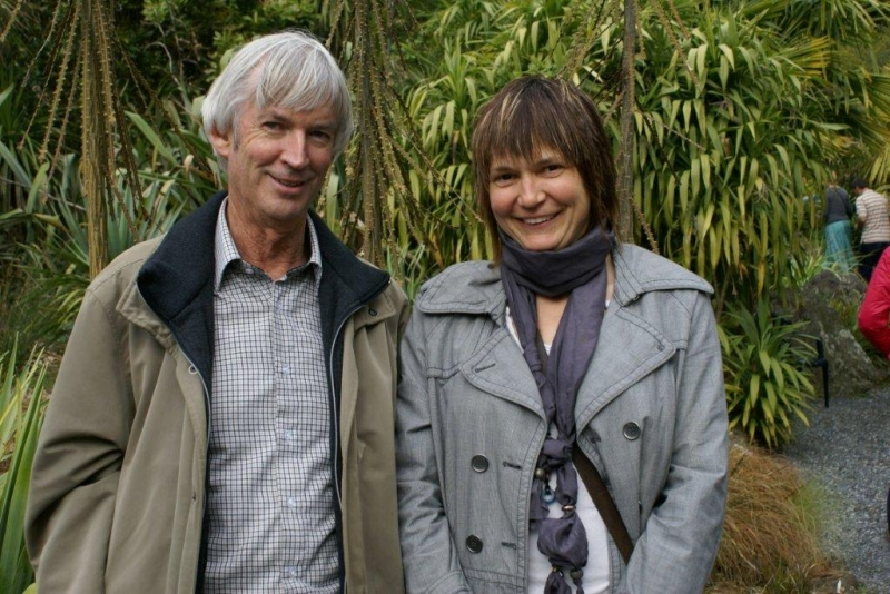 Colin Vazey and Karin Barr